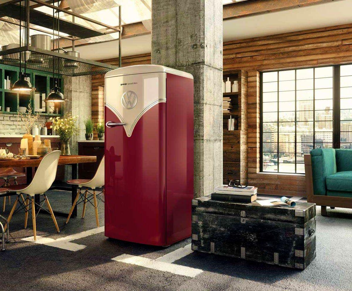 Gorenje Kühlschrank Vw Bus : Gorenje vw retro household appliances pinterest neue wege und