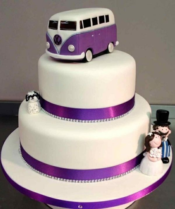 lustige torte tolle hochzeitstorte st cke bus hochzeit pinterest gourmet. Black Bedroom Furniture Sets. Home Design Ideas