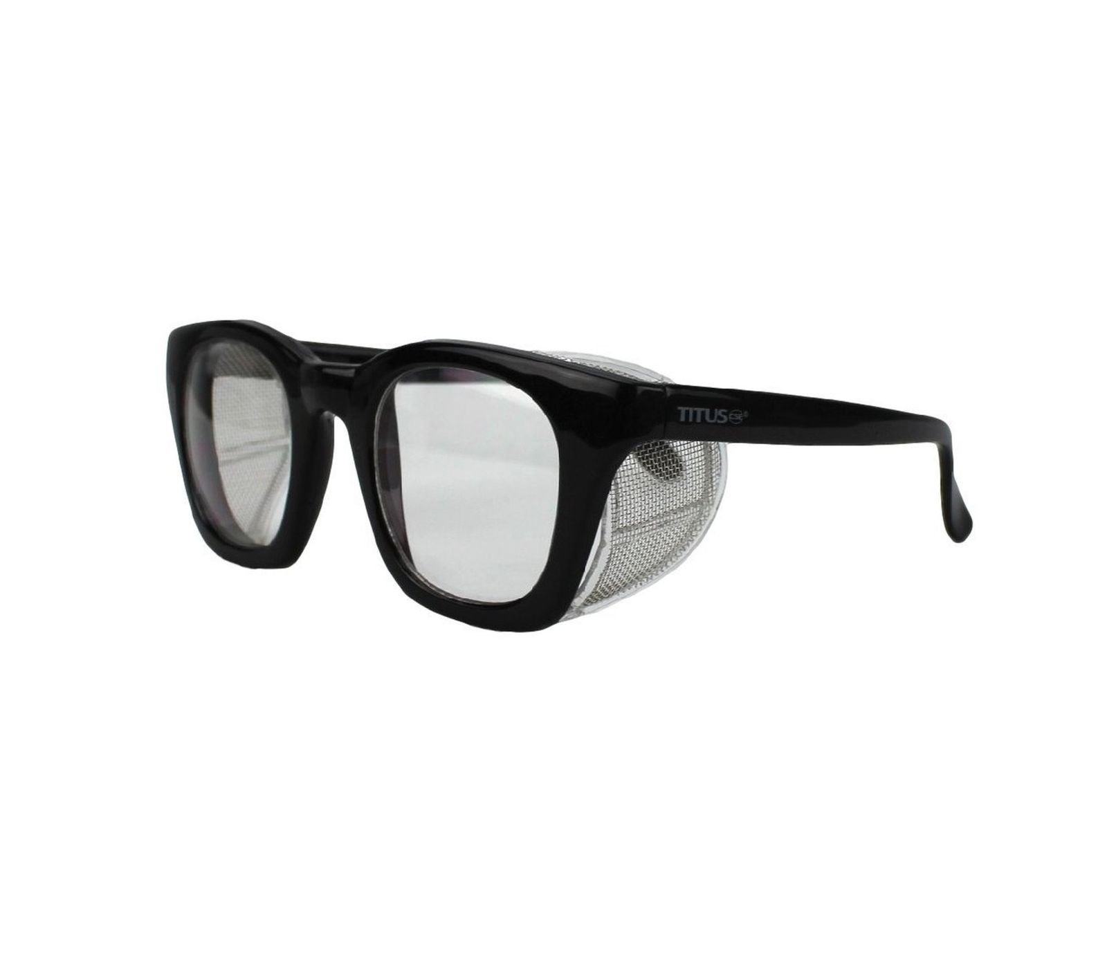 Retro Style Safety Glasses with Side Shield (w/o Pouch