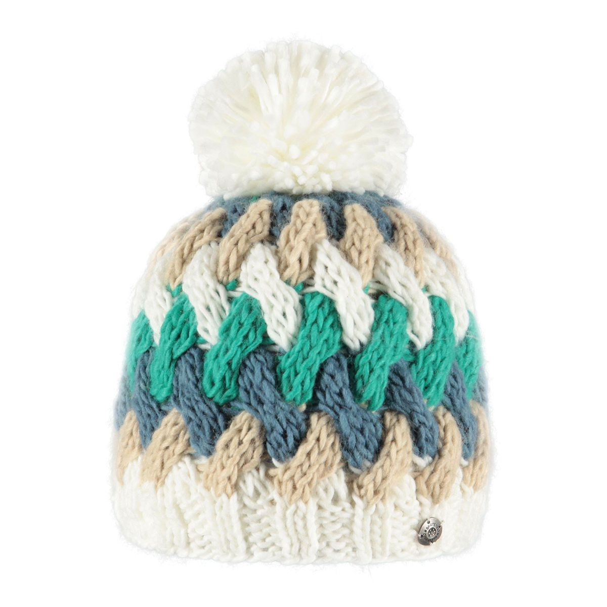 Barts Barbara Beanie - Cream | Free UK Delivery on All Orders