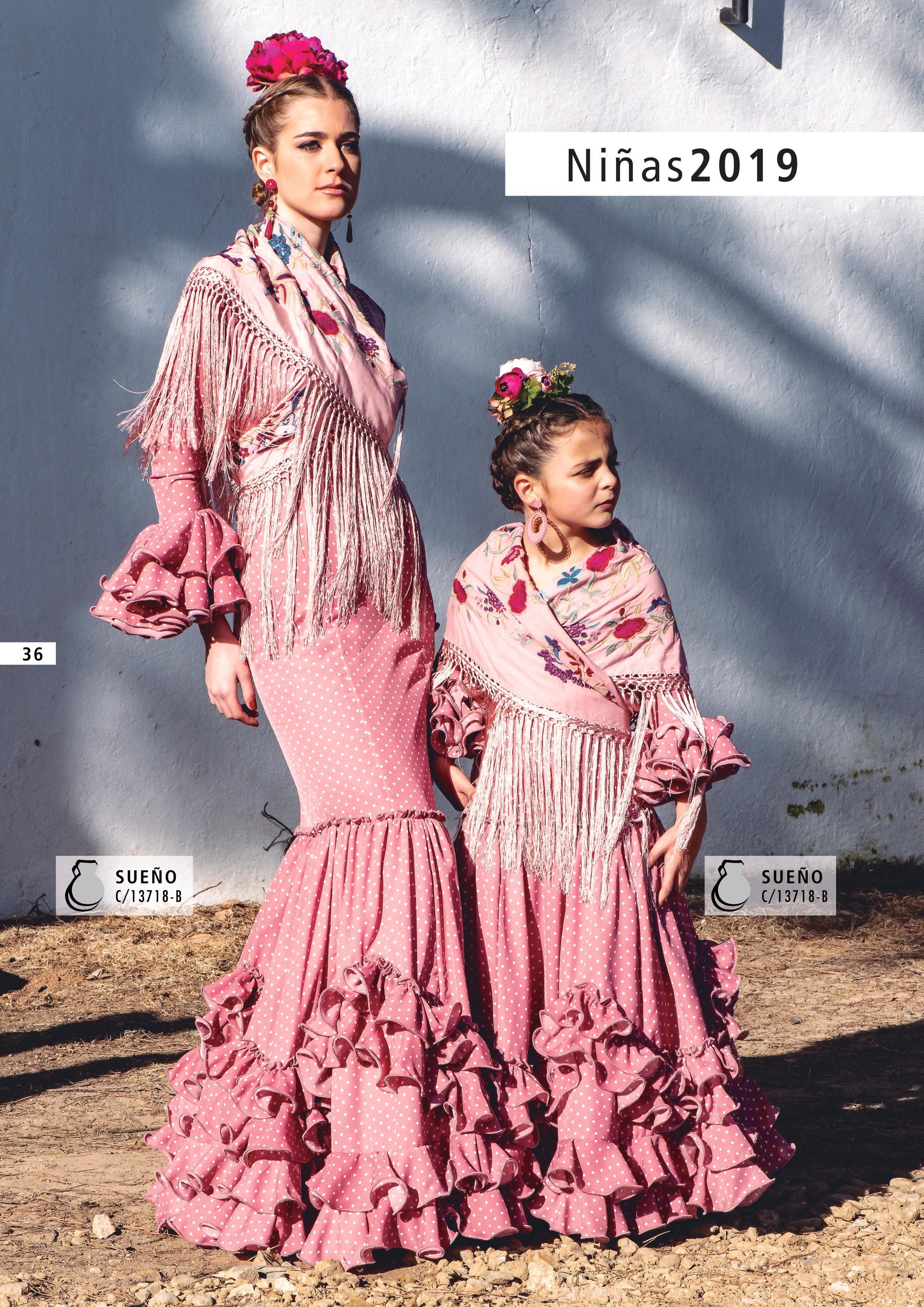 Colección Mujer 2019 Creaciones Maricruz Traje Flamenca Niña Vestido Flamenco Niña Vestidos De Flamenca