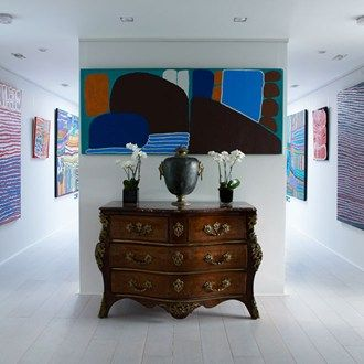 From+gallery+walls+to+triptychs,+the+most+stylish+ways+to+display+art