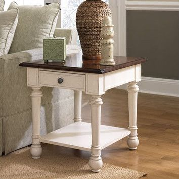 Hammary Promenade End Table Distressed End Tables End Tables