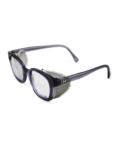 Mesh Safety Specs - Clear - Shaper Supply