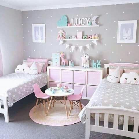 Pin de janeice villa en girls room ideas Pinterest