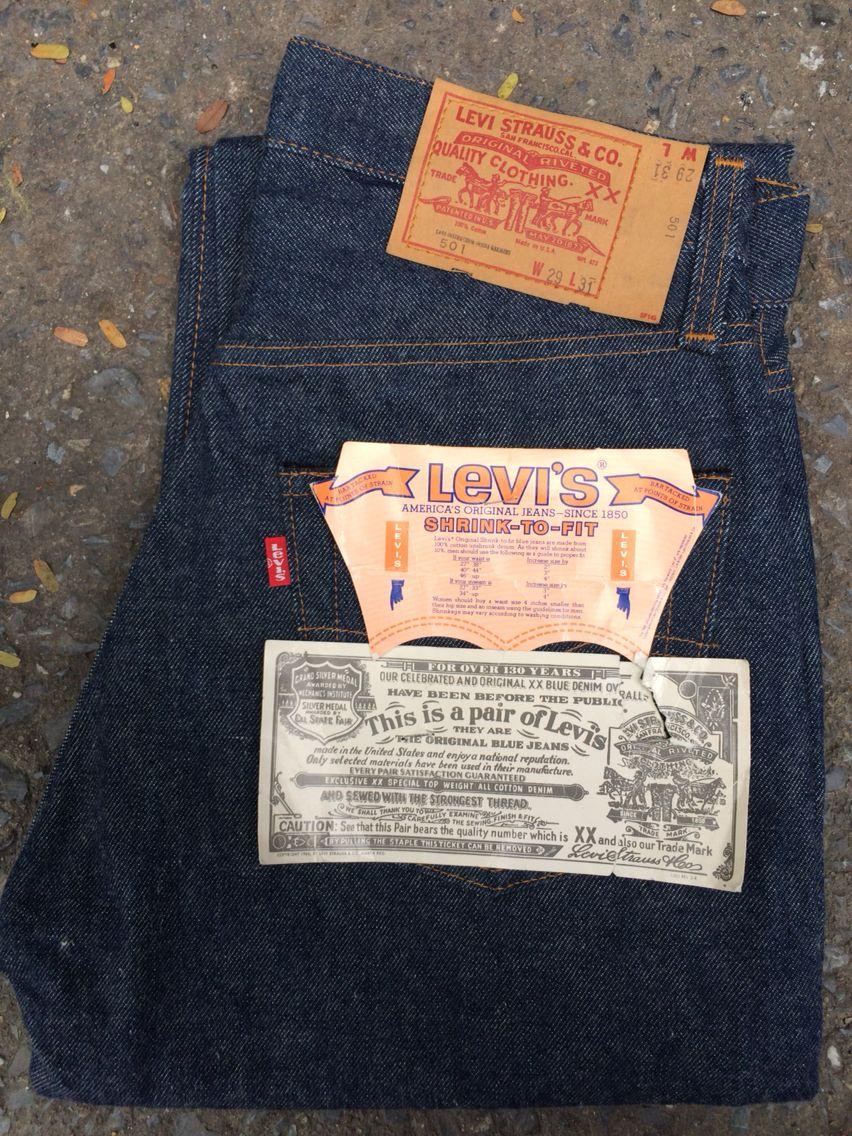 6df0c7810c7 Levi's 501 Redline 70s #524 | Vintage Denim in 2019 | ยีนส์, เสื้อผ้าชาย
