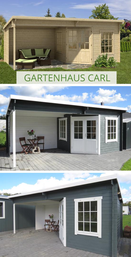 Gartenhaus Modell Carl 28 Gartenhaus Anbau Gartenhaus Gartenhaus Pultdach