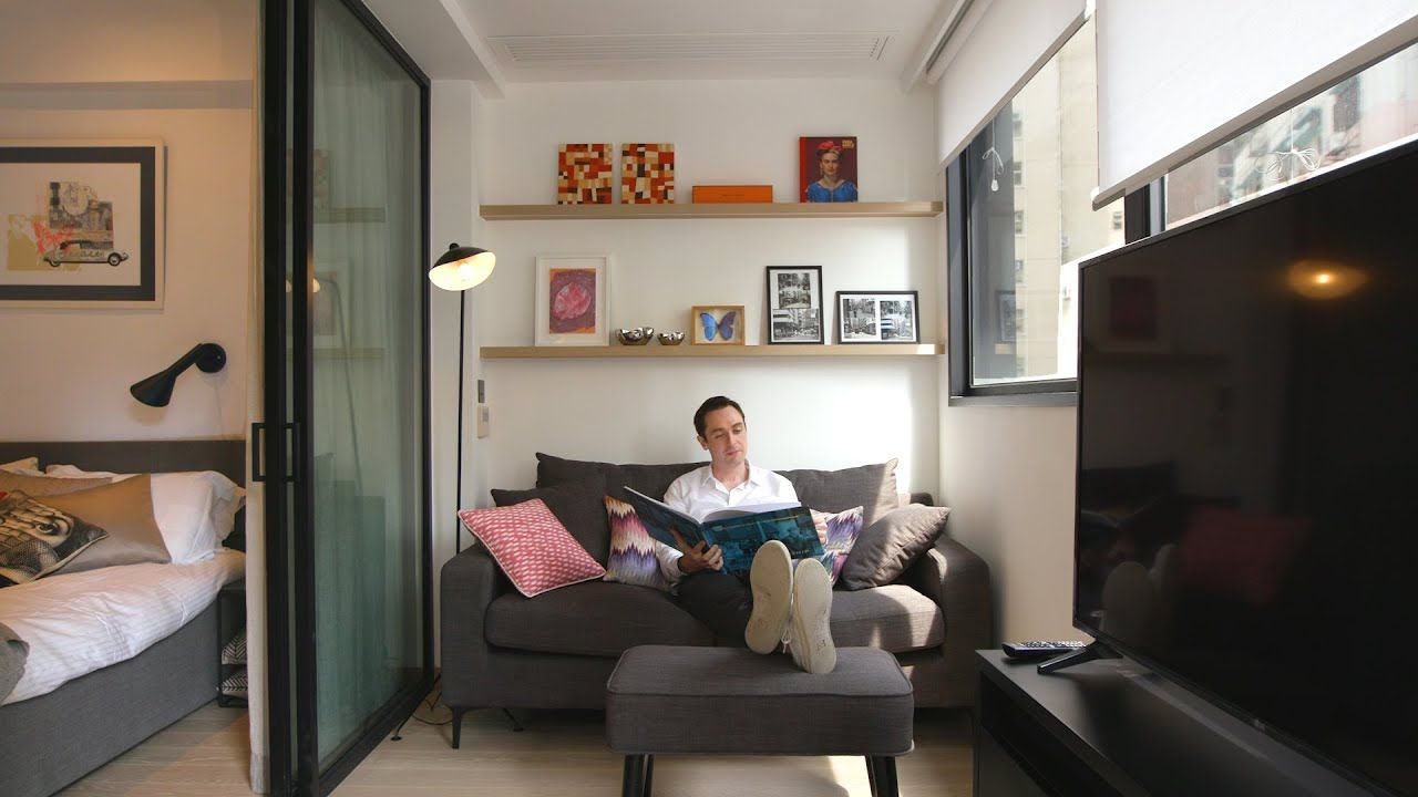 Never Too Small Ep 21 25sqm Tiny Apartment 379 Queens Road