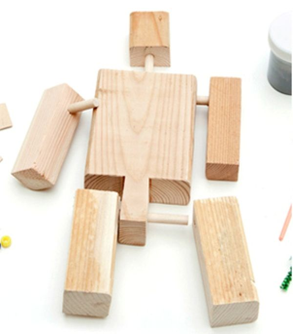 One Of Many Cool Things About Robots Is That You Can Build Them Using Almost Anything Paper Cardboard Cans Pieces Wood Buttonsthe Possibilities Are