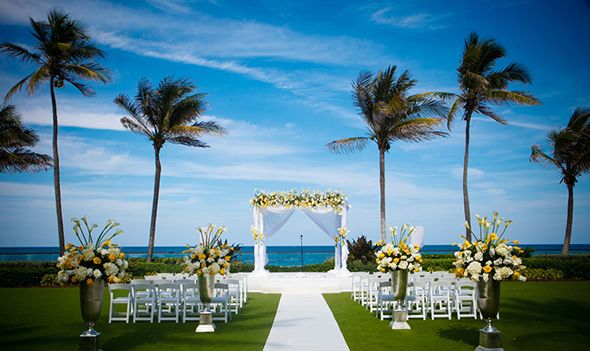 Beachfront Weddings Palm Beach At The Breakers In Florida Photos By Alainmartinez