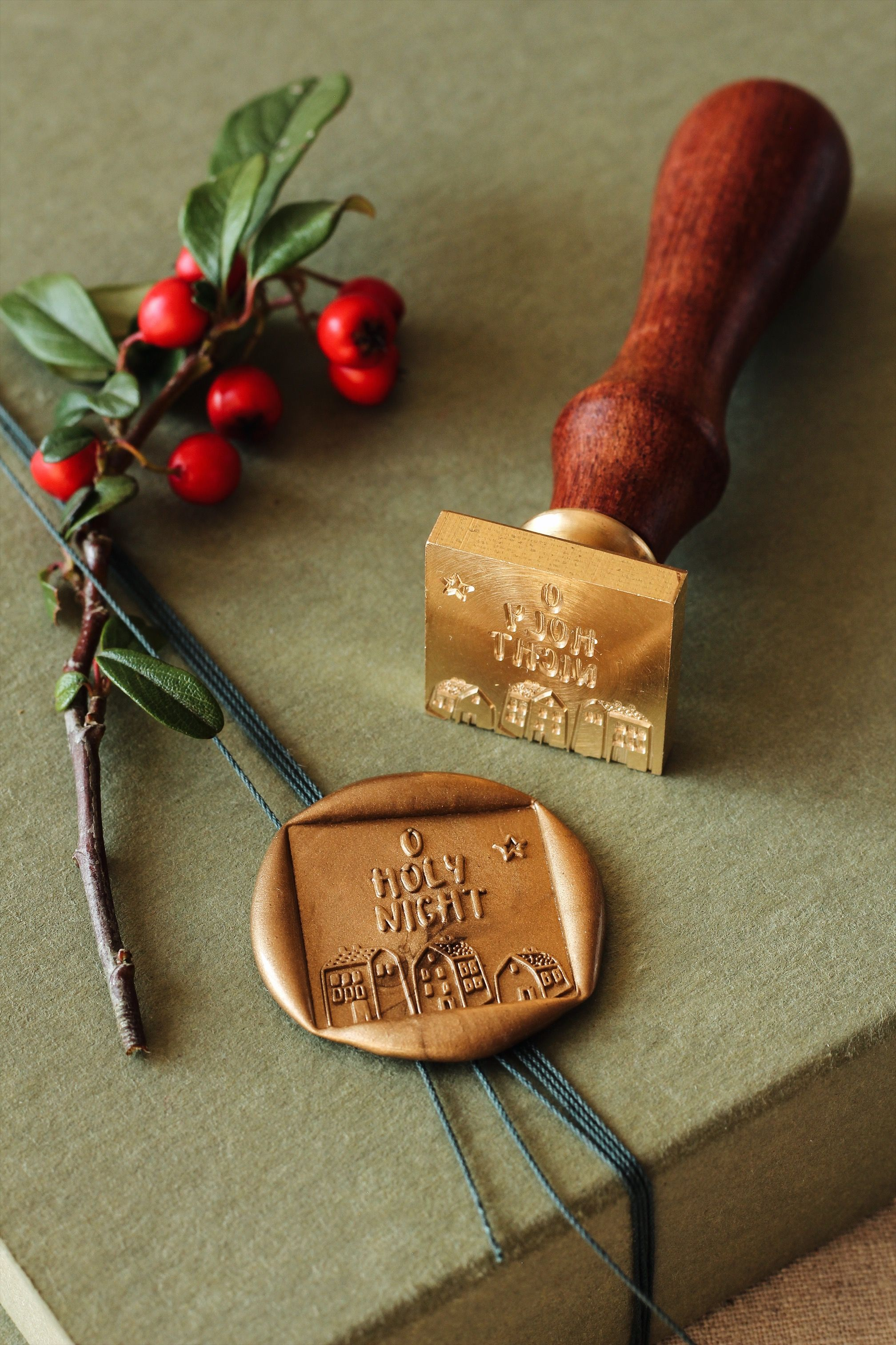 Wax Seal Brass Stamp Sunflower Sealing Invitation Envelope Post Christmas Gift