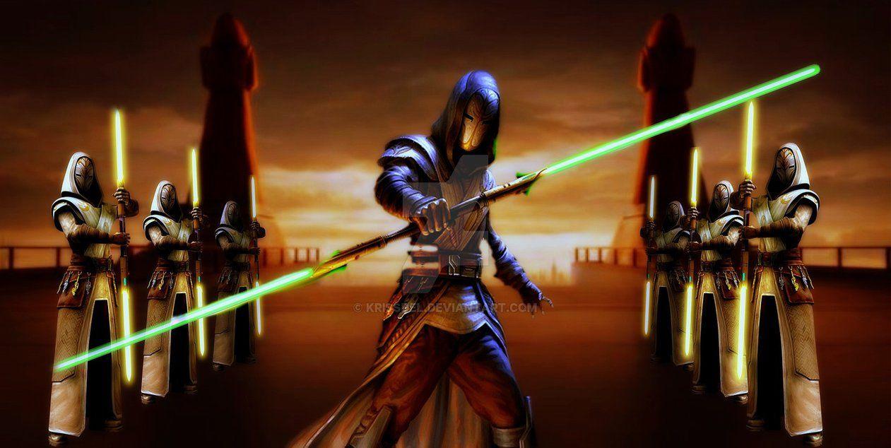 Guard Jedi Temple by krissdel.deviantart.com on @DeviantArt