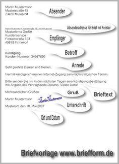 Briefform Briefe Schreiben In Modernem Briefstil An Firmen Oder Behorden Briefe Schreiben Brief Schreiben Grundschule Deutsche Sprache