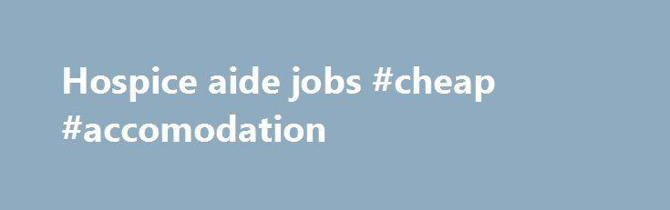 aide jobs