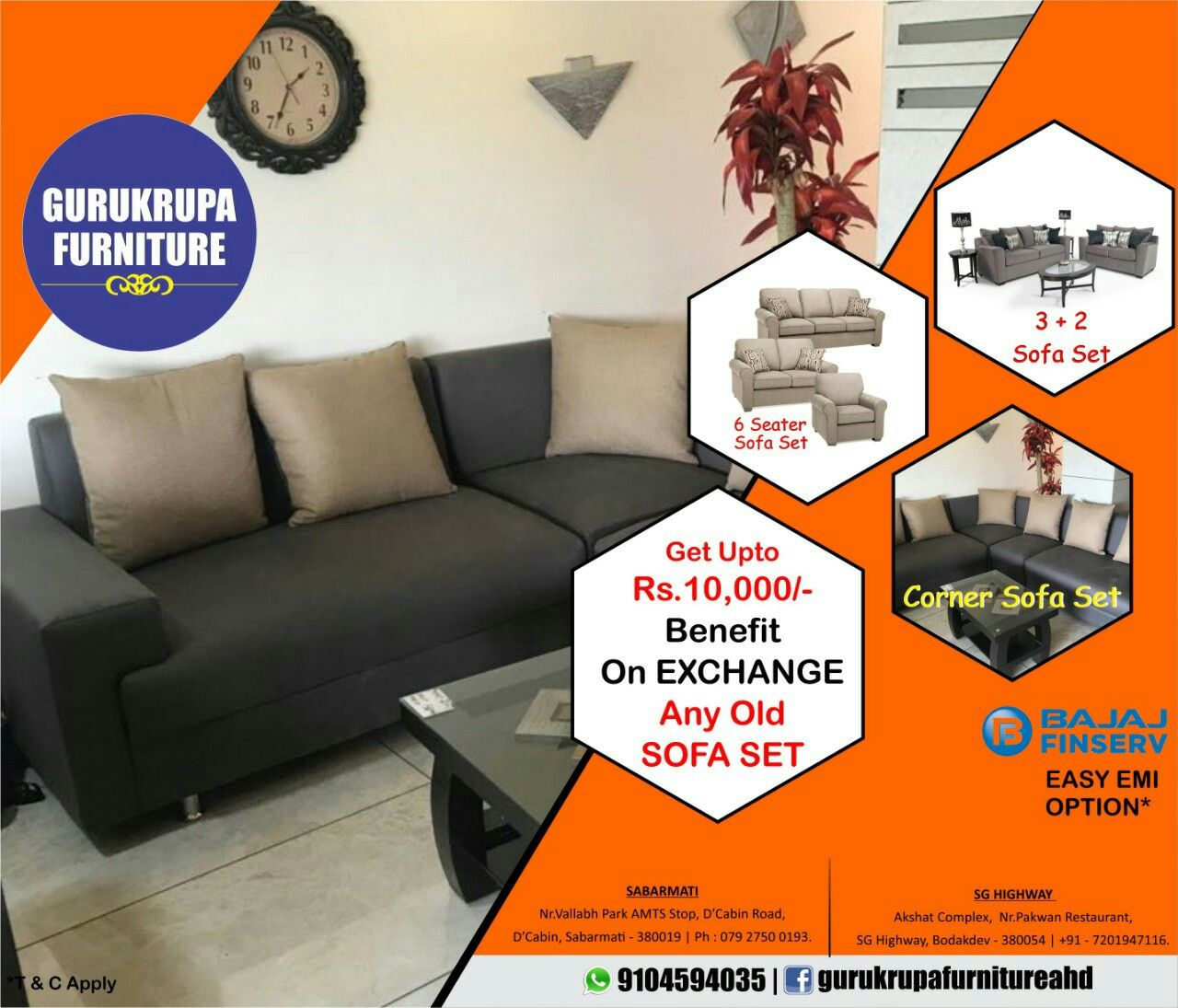 Get Upto Rs 10 000 Benefit On Exchange Old Sofa Set 3 2 Sofa Set Corner Sofa Set 6 Seater Sofa Set Start Now Rs 1 Corner Sofa Set Sofa Set Corner Sofa