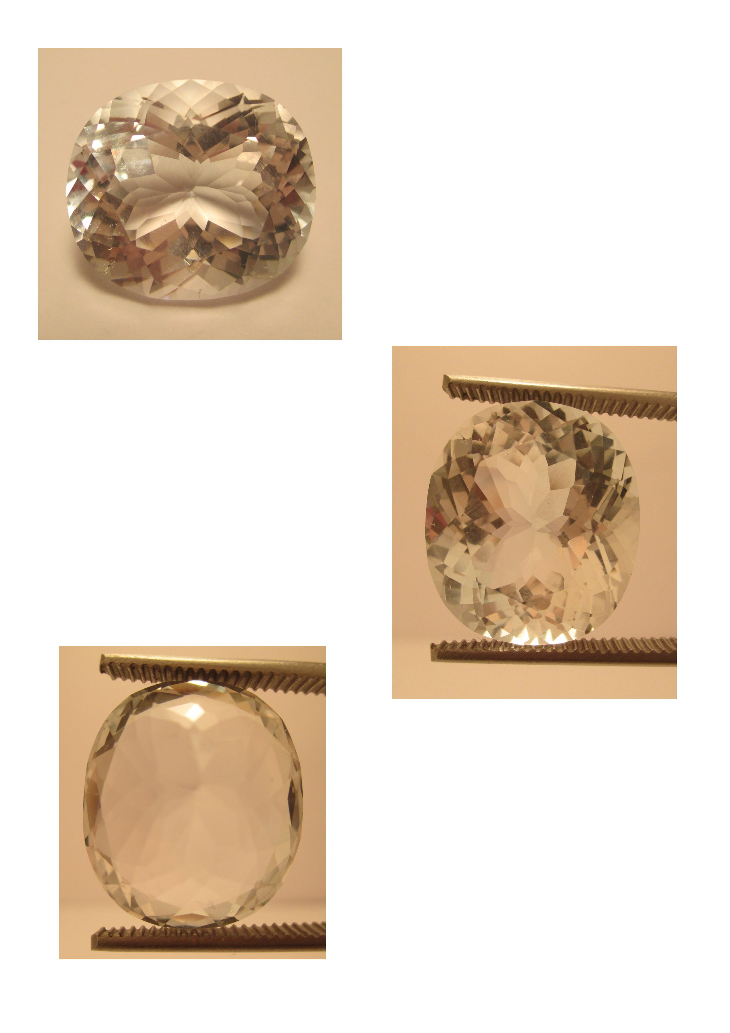 White Topas 30,95 ct, 20 x 17,5 x 12 mm - www.kn-jewellery.com - email: kn-jewellery@email.de