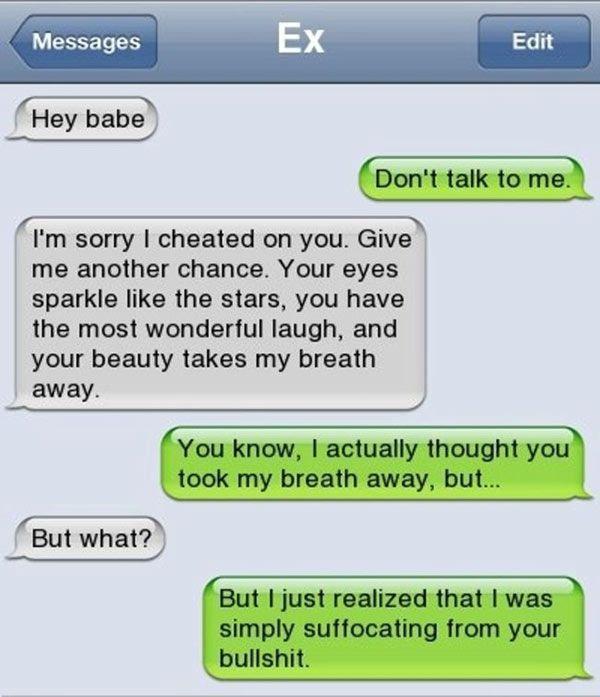 Funny Texts: Girls Totally Owning Ex Boyfriends | Team Jimmy Joe