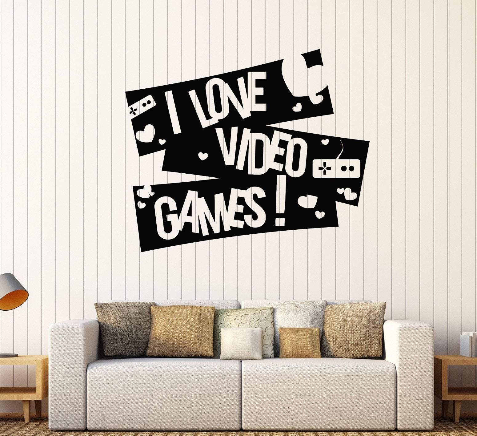 Vinyl Wall Decal Video Game Boy Room Gaming Quote Stickers Unique Gift 355ig Boy Room Vinyl Wall Decals Wall Decals