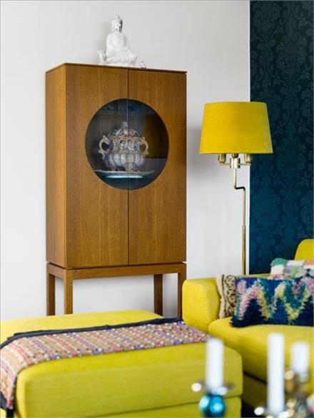 cabinet from Ikeau0027s Stockholm Series #furniture 读书会来来来 - wohnzimmer gelb weis