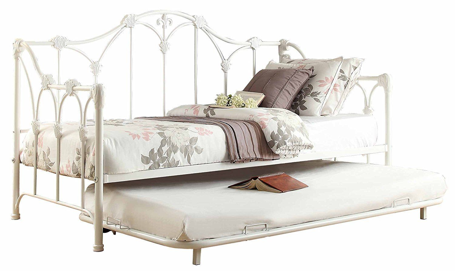 Metal Daybed With Trundle White Metal Daybed Daybed With