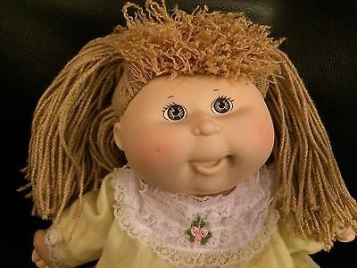 Pretty Crimp N Curl Cabbage Patch Kids Doll First Edition Cabbage Patch Kids Cabbage Patch Kids Dolls Cabbage Patch