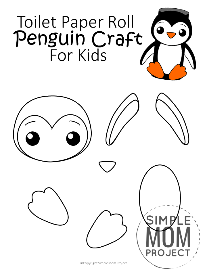 Penguin Template Cut Out from i.pinimg.com