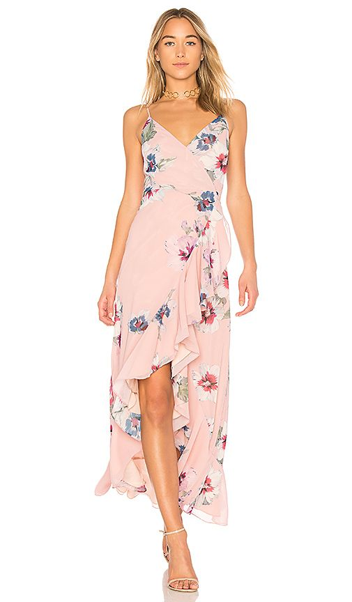Shop for Yumi Kim Cross Roads Maxi Dress in Forget Me Not Blush at REVOLVE. Free 2-3 day shipping and returns, 30 day price match guarantee.