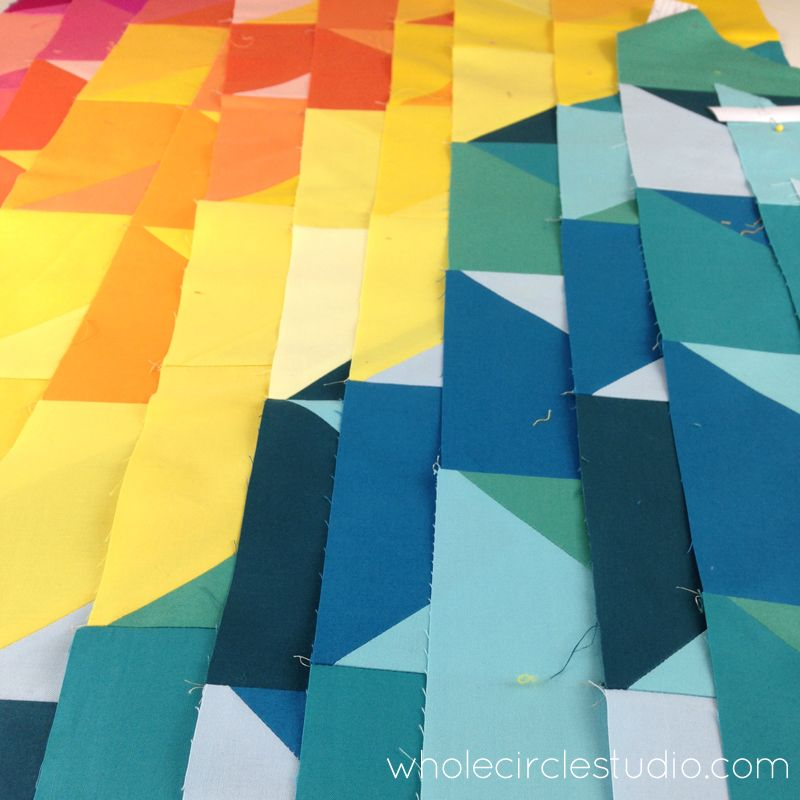 behind the scenes: the Sun Salutations quilt | Quilts, Sun ...