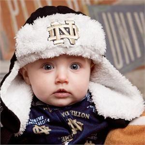 d9891b8c8a8 Notre Dame Toddler Hat  NotreDame  baby  hat  infant  toddler ...