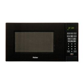 Haier 0 9 Cu Ft 900 Watt Countertop Microwave Black Hmc920bebb