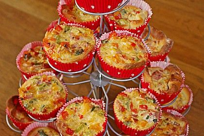 Mini-Party-Quiches von CookingJulie | Chefkoch