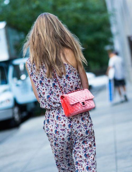 Chanel street style.