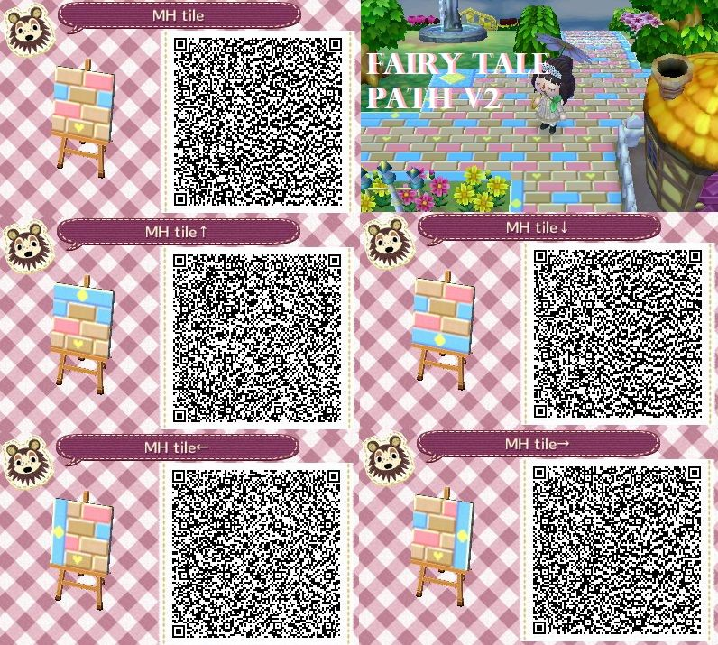 Fairy tale path2 by mana pudding on deviantart qr codes for Qr code acnl sol