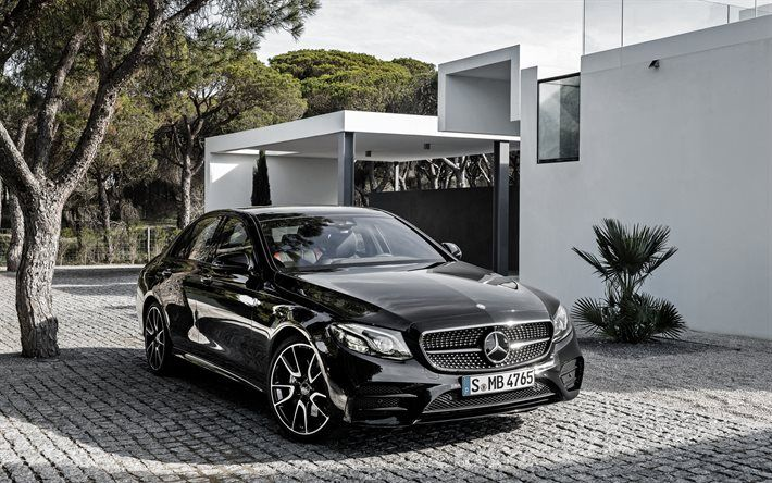 Download Wallpapers Mercedes Benz E Class Amg 2017 W213 Black