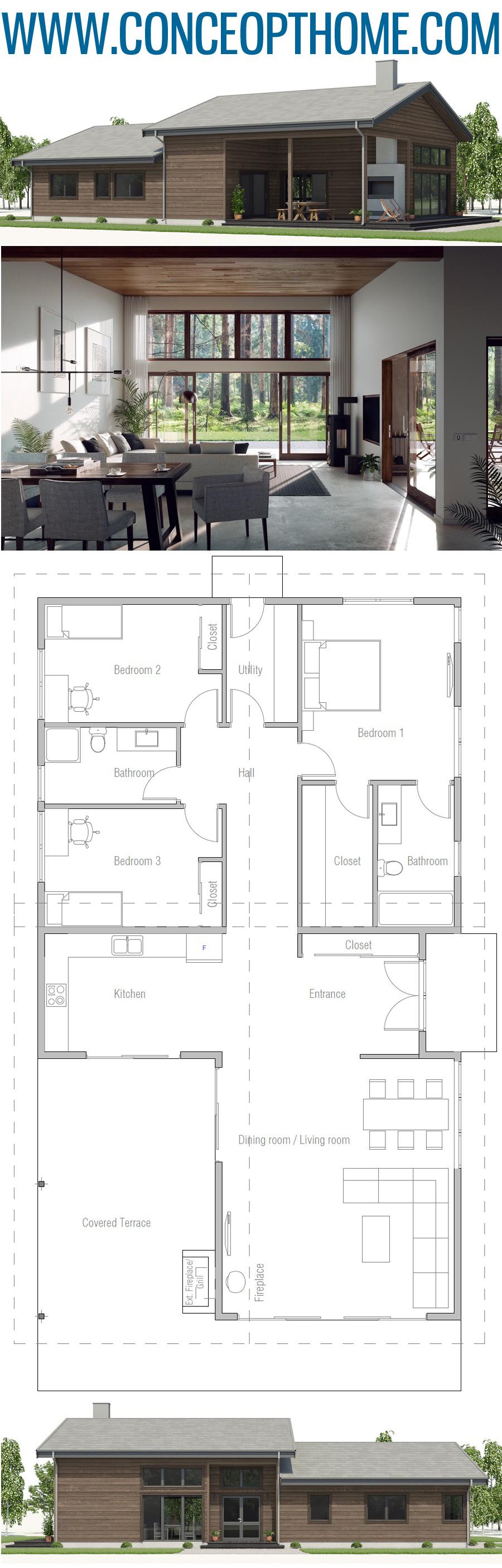 ConceptHome Architecture #strandhuis