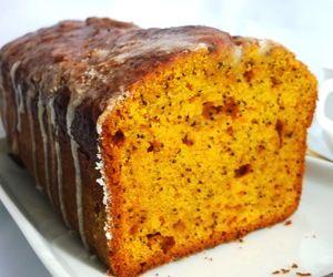 Тыквенный кекс с маком   Рецепт   Тыквенный кекс, Десерты ...
