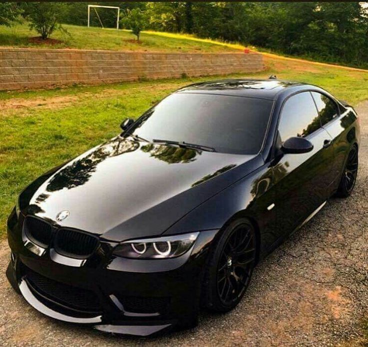 Bmw E92 3 Series Black With Images Bmw Cars Bmw Coupe Cars
