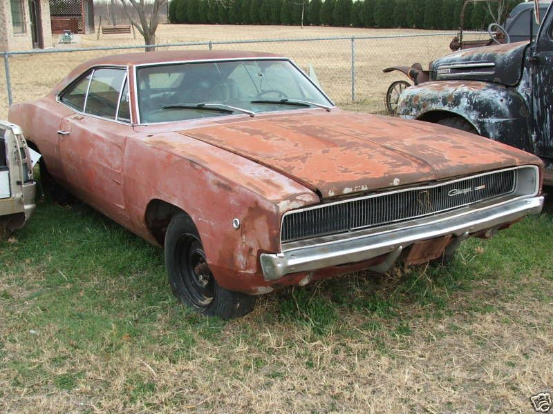 1968 Charger Maintenance of old vehicles: the material for new cogs ...
