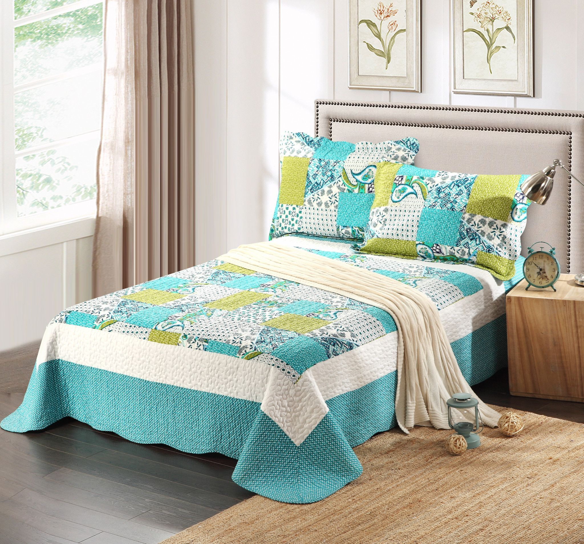for chic with bedding frame quilt california king comfy bedroom design bed
