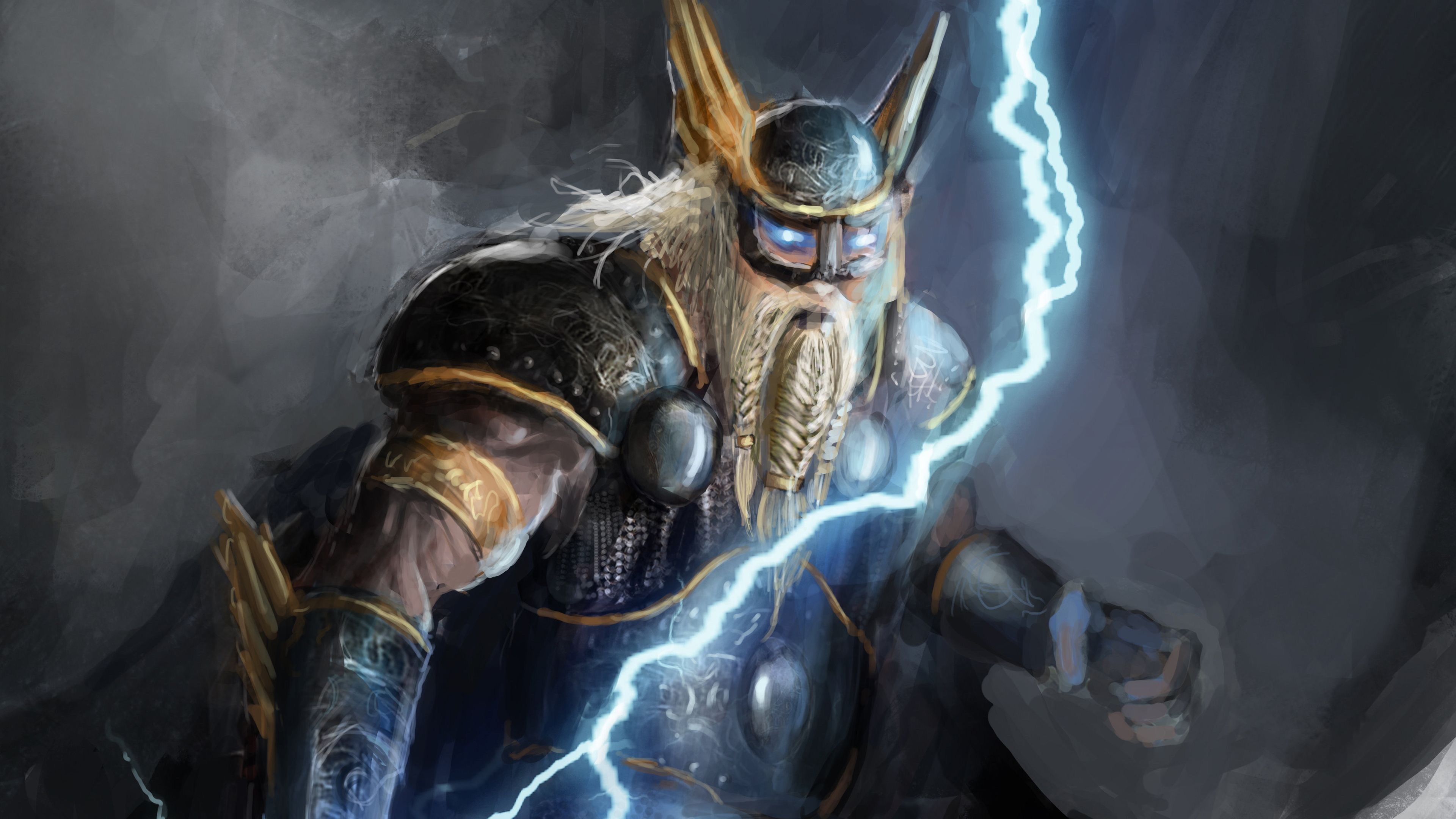Norse God Of Lightning 4k Thor Wallpapers Superheroes Wallpapers Hd Wallpapers Digital Art Wallpapers Artwork Wallpapers Artist Norse Thor Thor Wallpaper