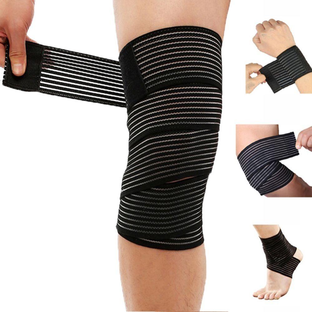 Fitness elastic bandage tape sports support straps