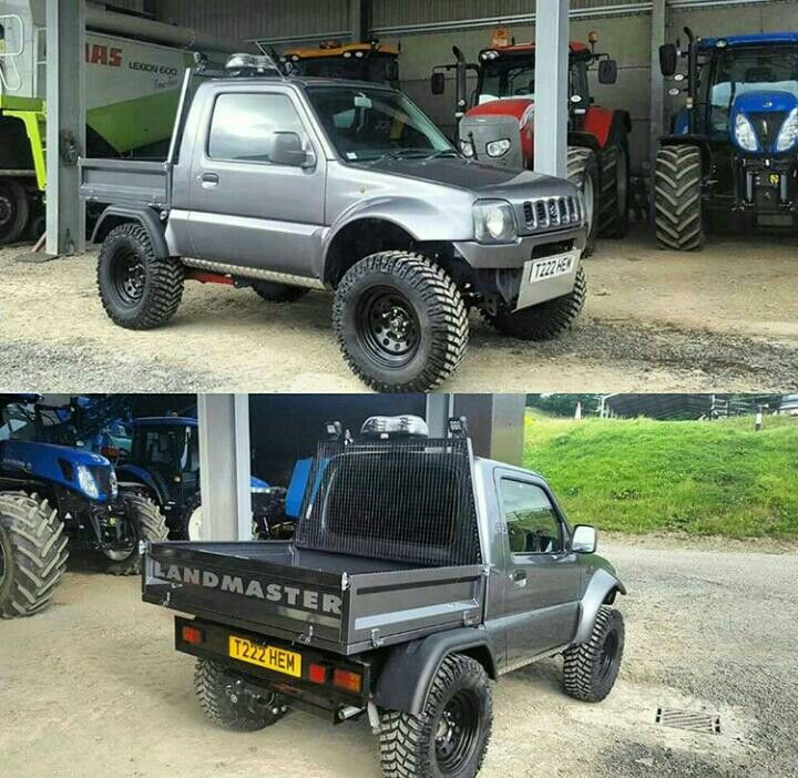 jimny pickup jimny pinterest 4x4 suzuki jimny and offroad. Black Bedroom Furniture Sets. Home Design Ideas