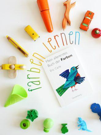 Eric Carle - Mein allererstes Buch der Farben. Farben lernen, leicht ...