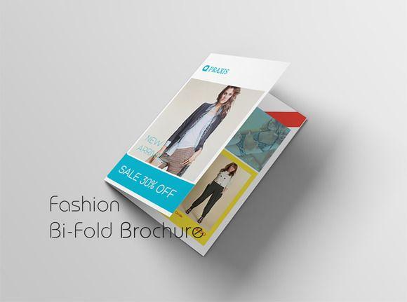 Fashion Bi-Fold Brochure @creativework247 Templates - Templates - fashion design brochure template