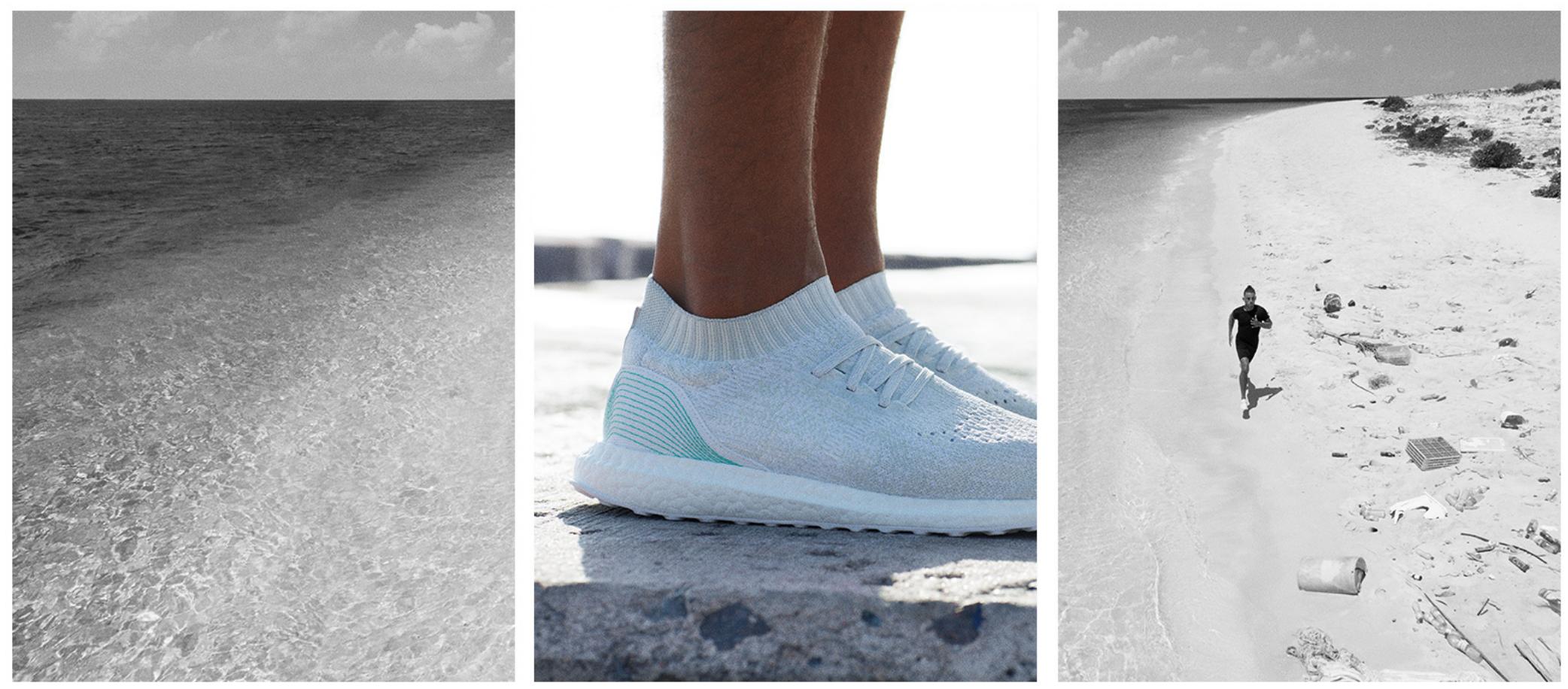 UltraBOOST Parley Der adidas Sneaker Uncaged Meeresabfall E2WD9HI