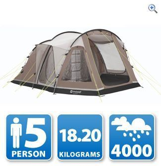 Outwell Nevada M 5-Berth Tent | GO Outdoors  sc 1 st  Pinterest & Outwell Nevada M 5-Berth Tent | GO Outdoors | Camping | Pinterest ...