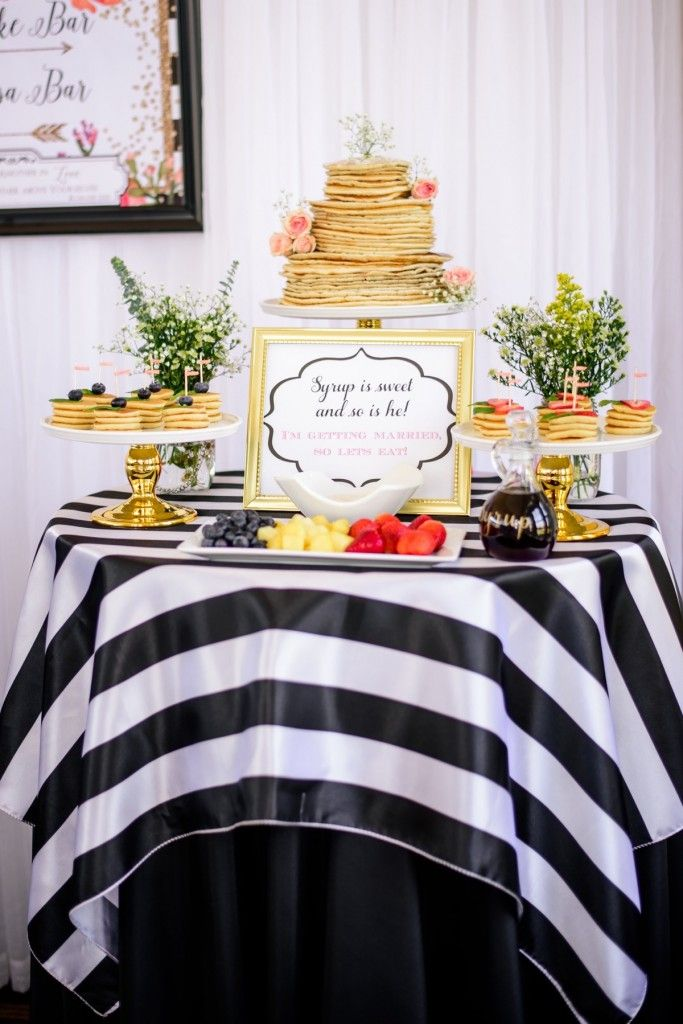 Pancakes And Mimosas Bridal Shower Party Events