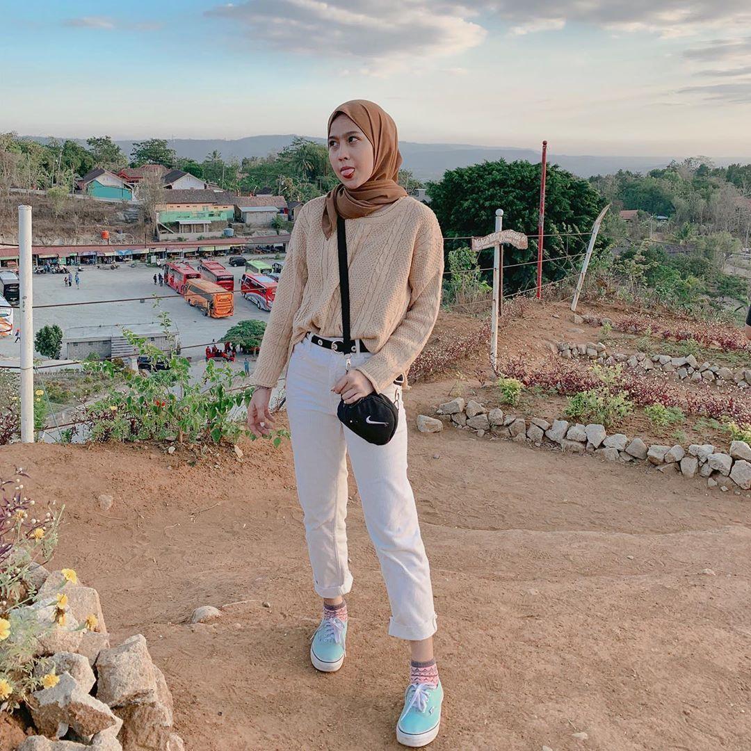 Ootd Baju Rajut Hijab