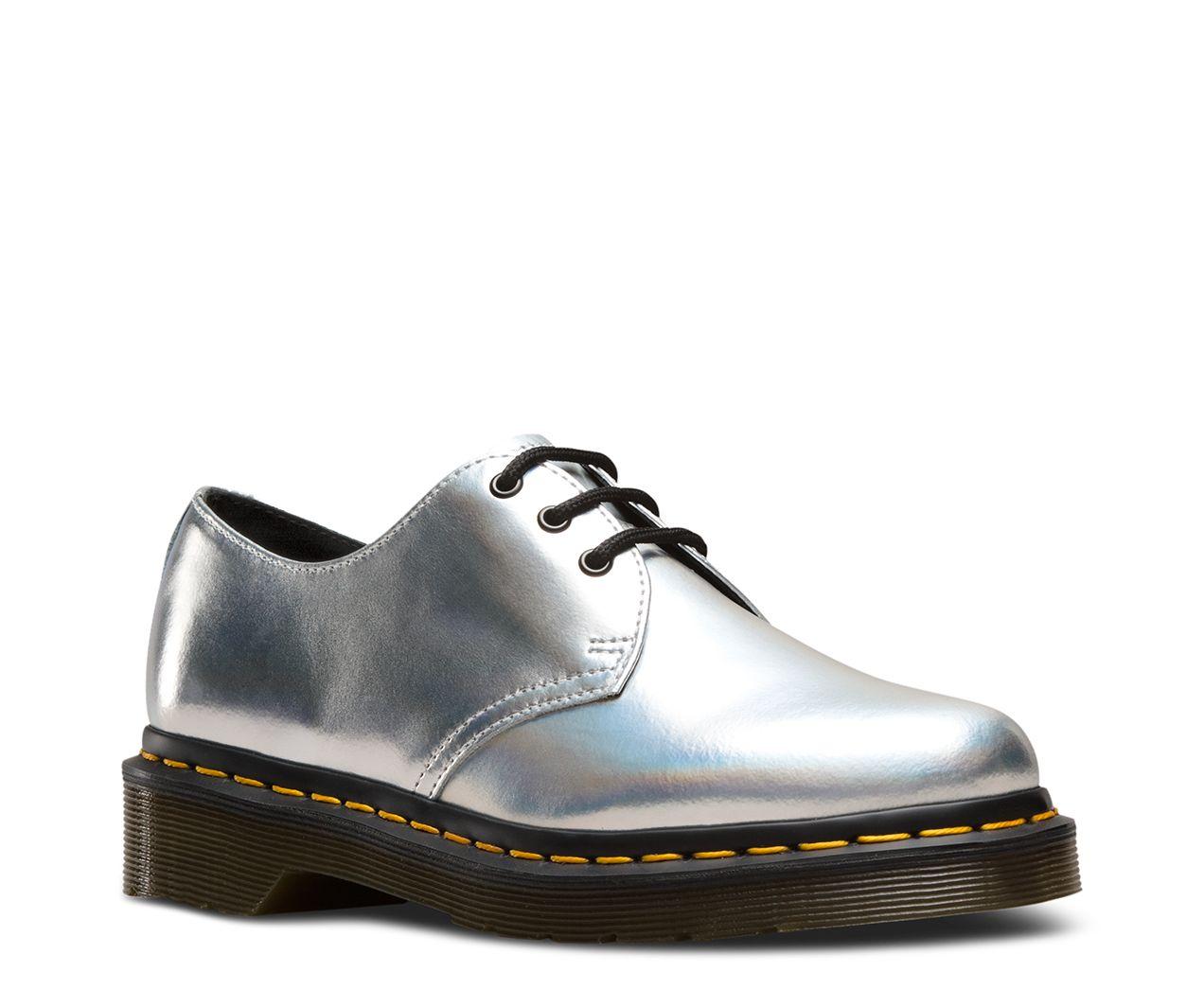 silver lazer doc martens