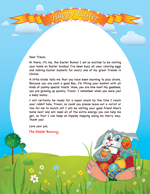 letter from easter bunny template juve cenitdelacabrera co